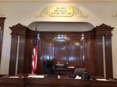 Lawrence County Courtroom